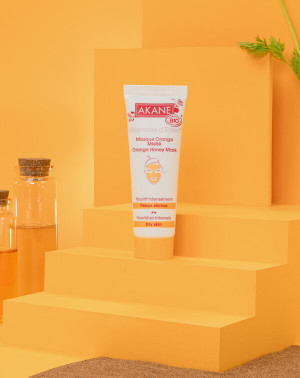 Masque Orange Miellé